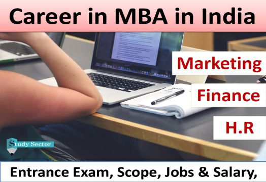 Career in MBA (Finance/HR/Marketing) Admission, Scope, Jobs  Salary