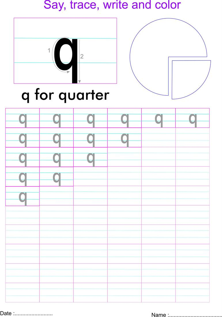 Letter q worksheets cover letter sample for job letter q worksheets letter q worksheets softschools small letters lower case practice worksheets open pdf file robcynllc Image collections