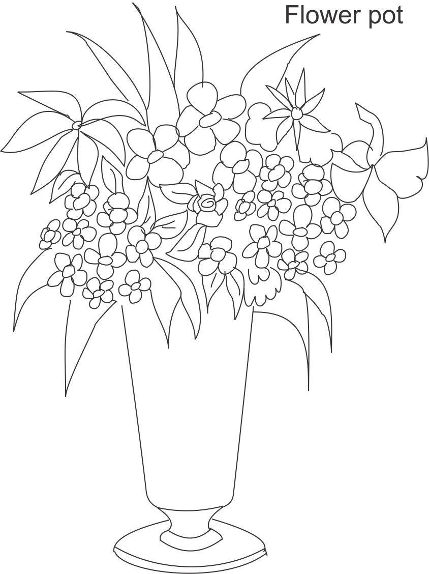 flower coloring page http download
