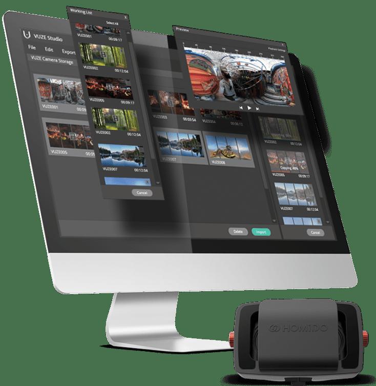 Le logiciel de montage vidéo 360°
