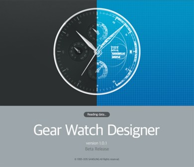 Samsung Gear Watch Designer