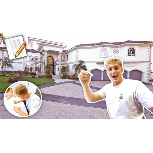 Medium Crop Of Logan Paul House