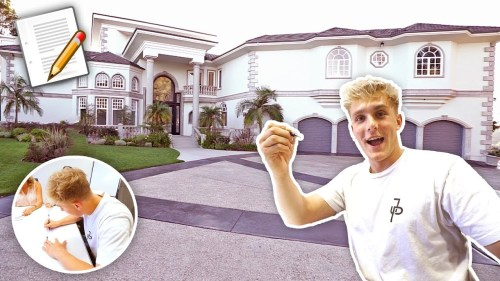 Medium Of Logan Paul House