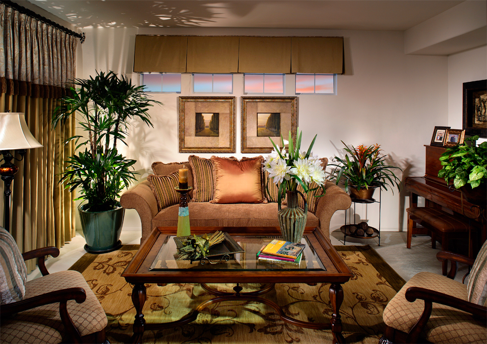 Living Room _ Classic Style