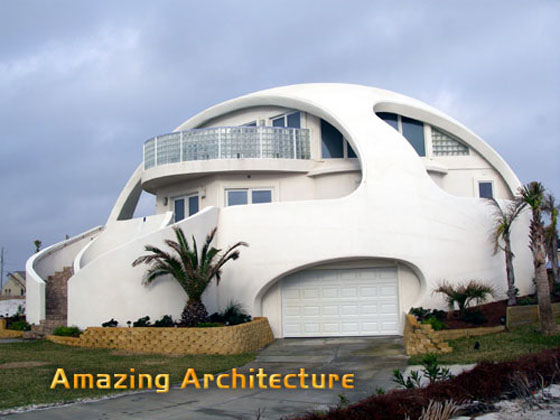 Amazing and unusual architectural houses for Amazing architecture houses