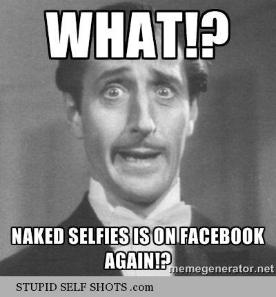cum face selfie