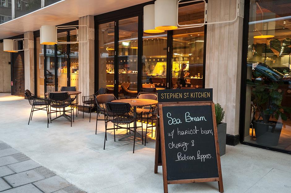 Stephen Street Kitchen Restaurant At British Film Institute