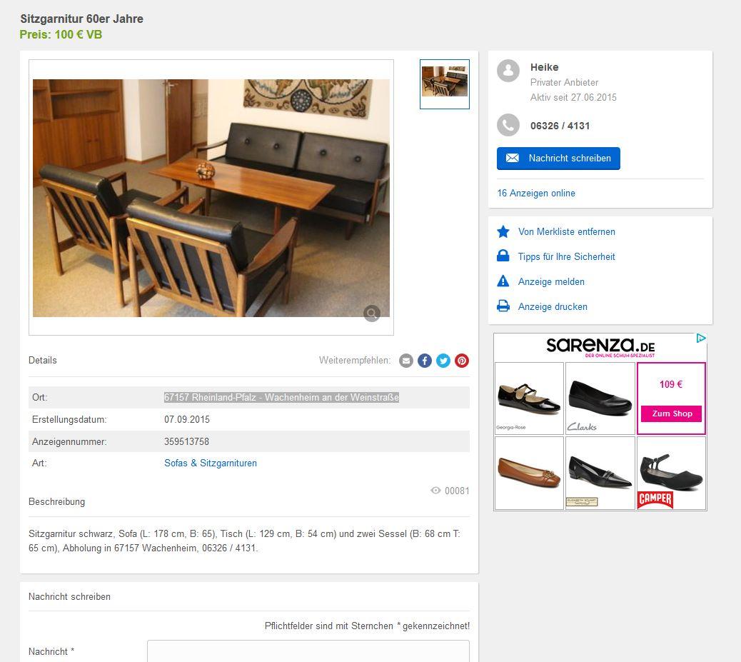retro sofa kaufen | mission furniture rockridge, Wohnzimmer dekoo