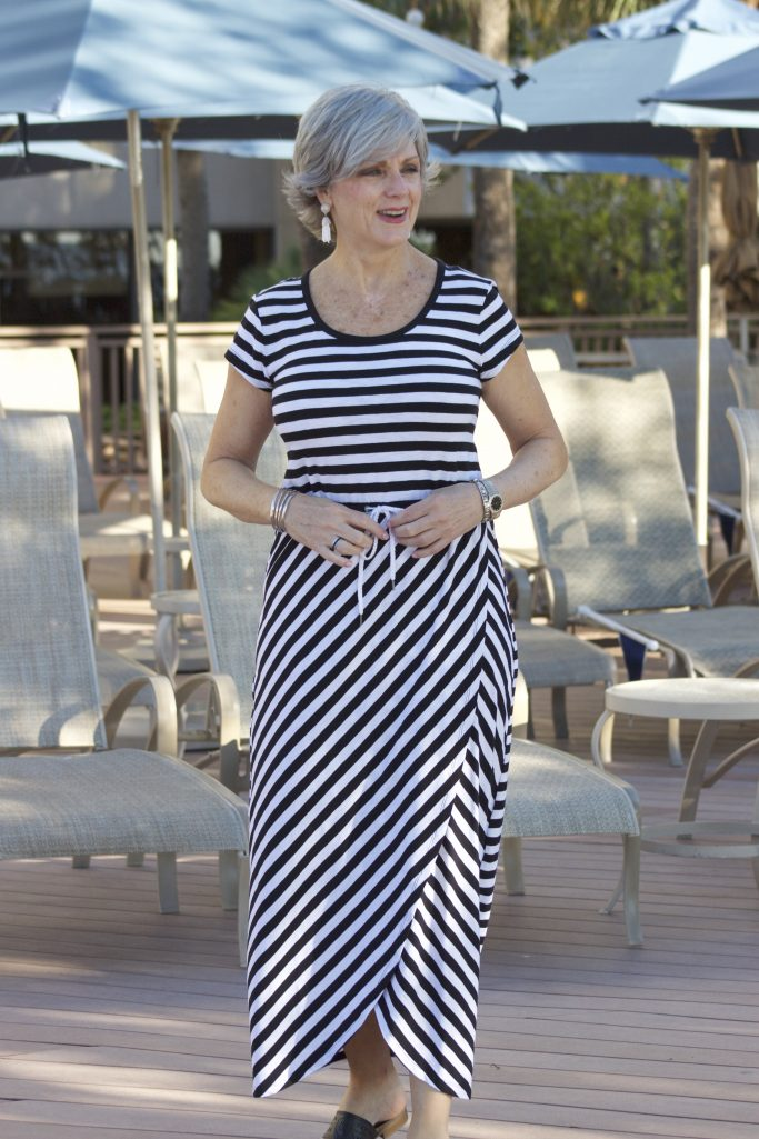 Summer Stripes Style At A Certain Age