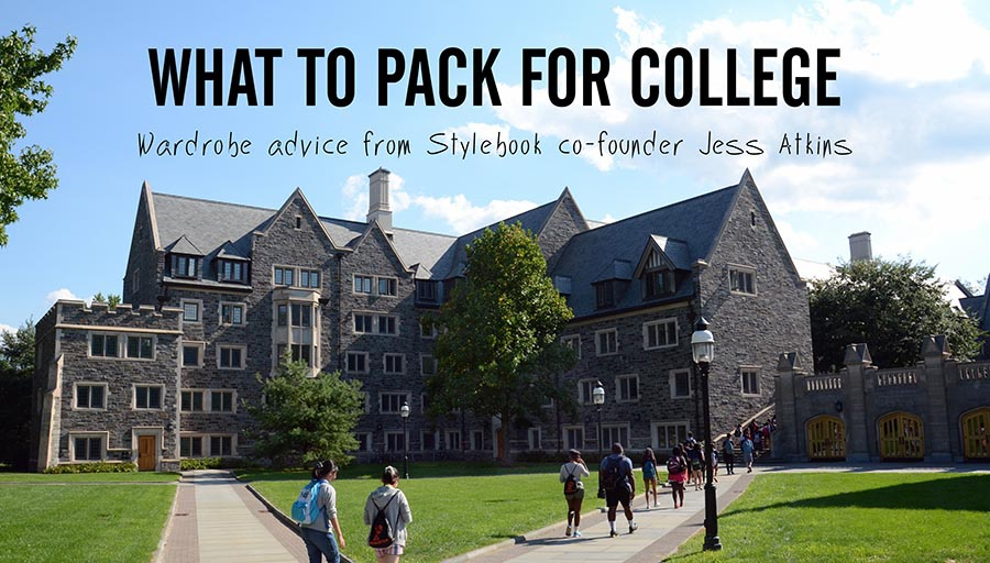 Stylebook Closet App What Clothes to Pack for College
