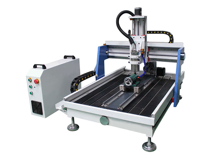 Stm6090 mini desktop cnc router with 4th axis rotary cnc