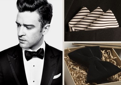 Justin Timberlake Suit And Bow Tie