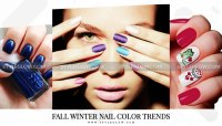 Latest Fall Winter Nail Color Trends 2018 - StyleGlow.com