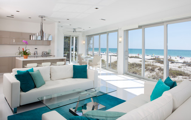 Teal Room Ideas-Decorating Your New Home Together - teal living room ideas