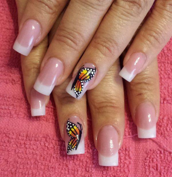 30 Beautiful Butterfly Nail Art Designs That You Will Need