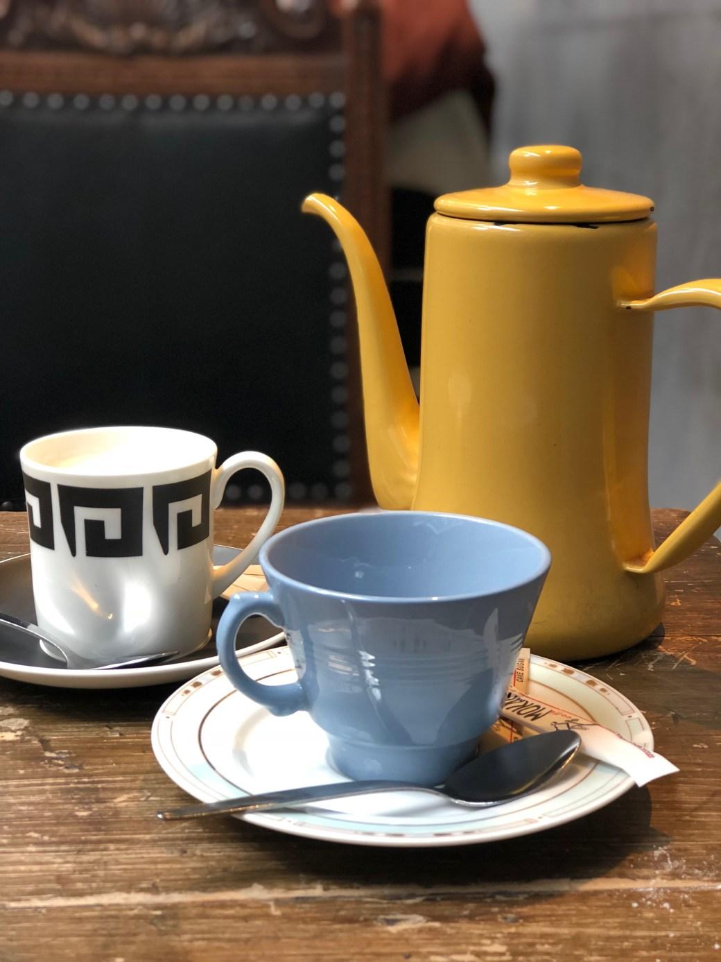 Library London Tea