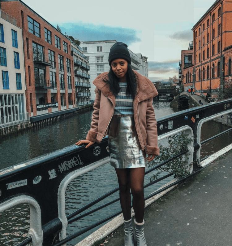 camden market london pink aviator winter coat jacket