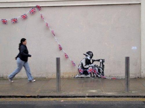 banksy3 - olympics - www.styleisnecessity.com