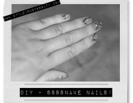 DIY NAIL CANDY! SNAKE IT UP!!
