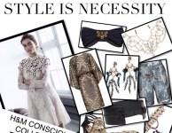 FASHIONABLE & SUSTAINABLE WITH H&M CONSCIOUS COLLECTION!