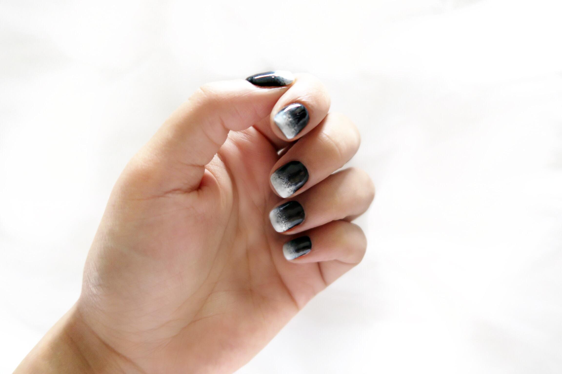 polish nails with sin koko