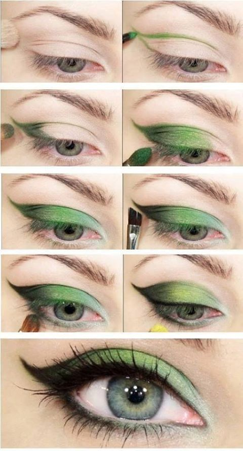 makeup for green eyes tips and tricks