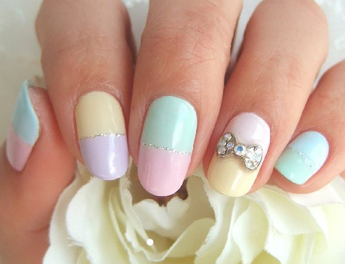 27 Simple And Cute Nail Art Ideas Style Motivation
