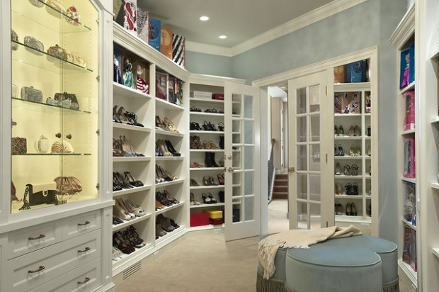 17 Sophisticate And Elegant Womans Closet Design Ideas