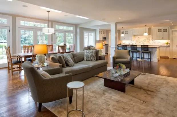 17 Open Concept Kitchen-Living Room Design Ideas - Style Motivation
