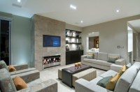 22 Modern Fireplace Design Ideas for Cozy Living Room Look ...