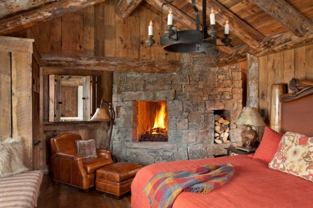 20 Amazing Fireplace Design Ideas For Cozy Rustic