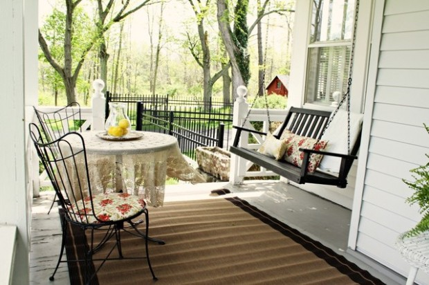 20 Cozy Porch Swings For Relaxed Sunny Days Style Motivation