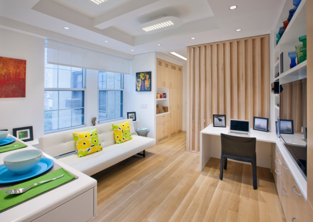 16 Modern And Spacious Open Concept Apartment Design Ideas - Style