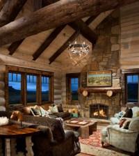 21 Rustic Log Cabin Interior Design Ideas - Style Motivation
