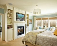 21 Impressive Master Bedroom Design Ideas with Fireplaces ...