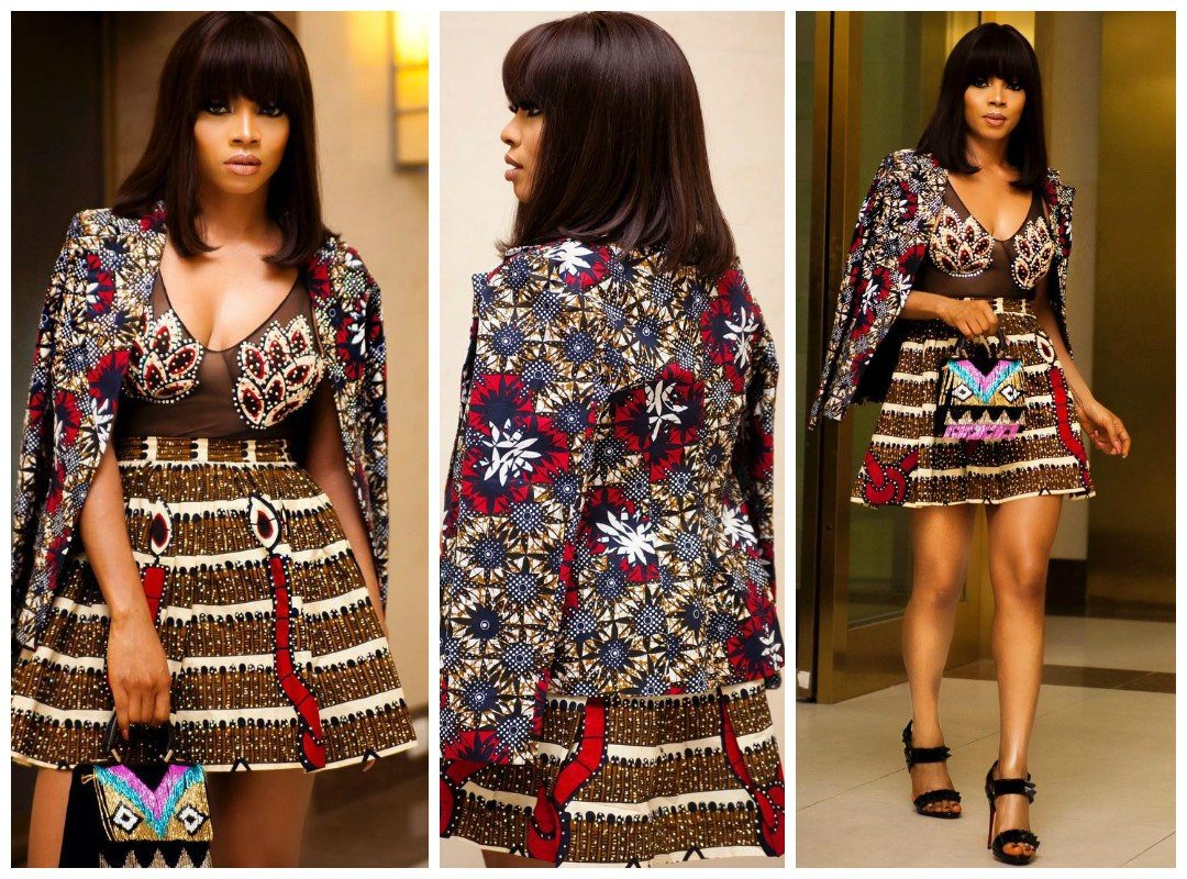 For The Love Of Ankara Celebrities Stun In The Latest