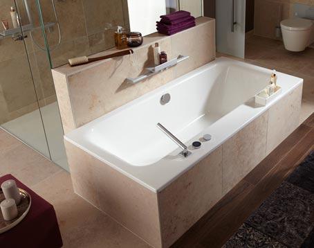 Les mini cloisons ou murets pour mieux aménager la salle de bains