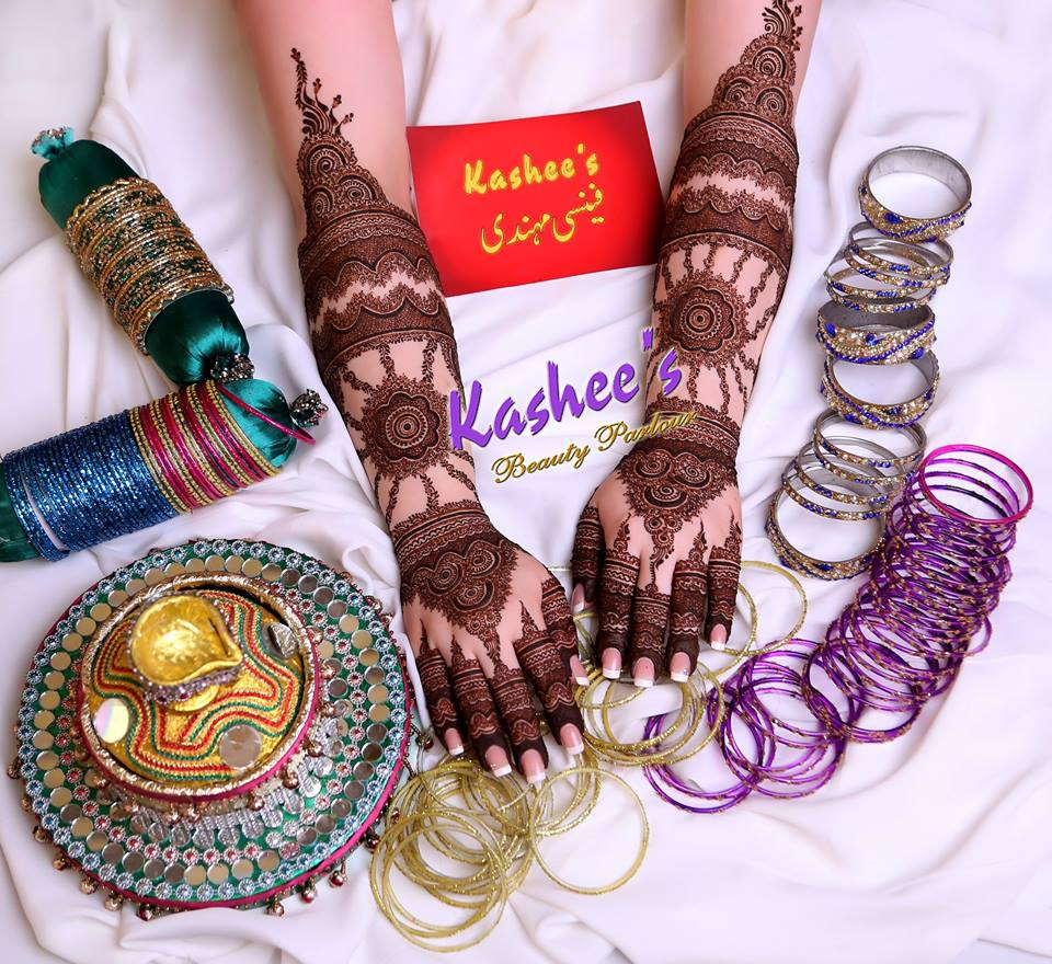Beautiful kashee s mehndi designs collection 2016 2017 for girls