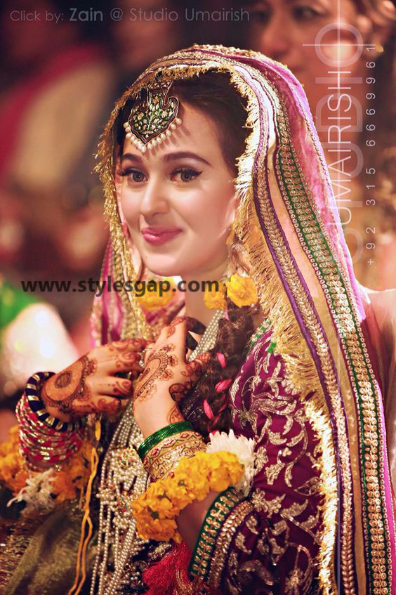 Simple Pakistani Girl Wallpaper Mayun Bridals Makeup Looks Dresses Designs 2018 2019 Trends