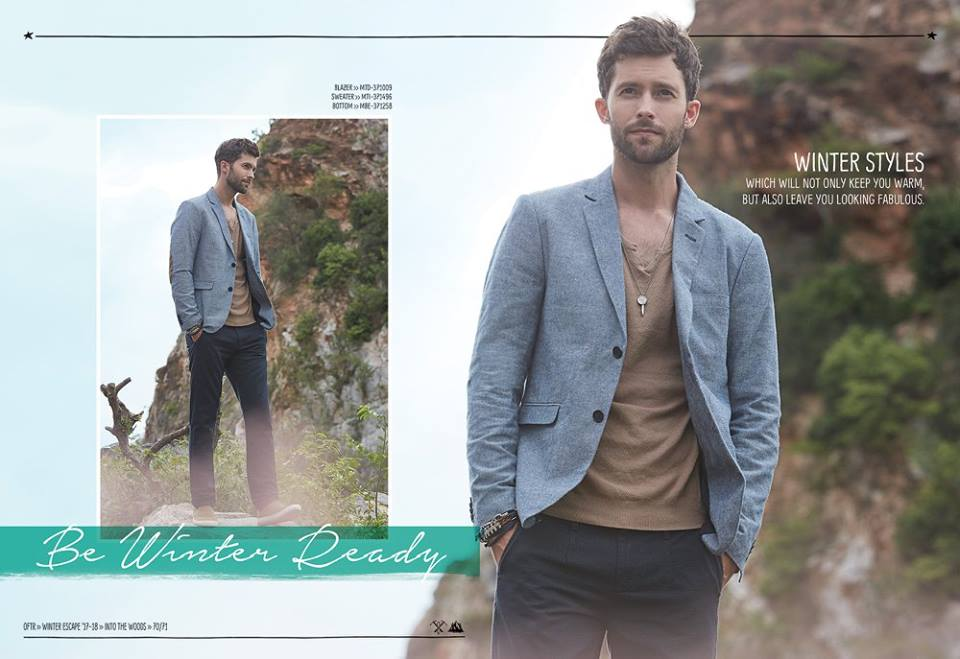 Outfitters Winter Dresses Collection 2018 2019 For Men