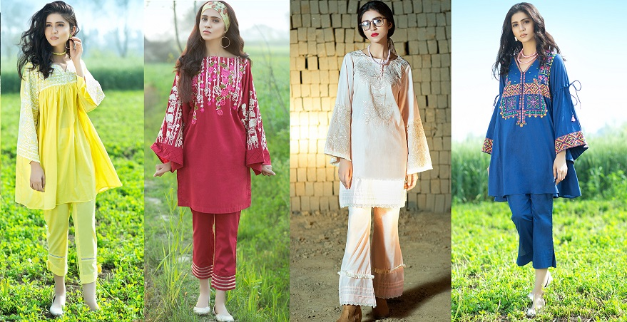 Latest Summer Kurti Designs Tops By Origins Spring