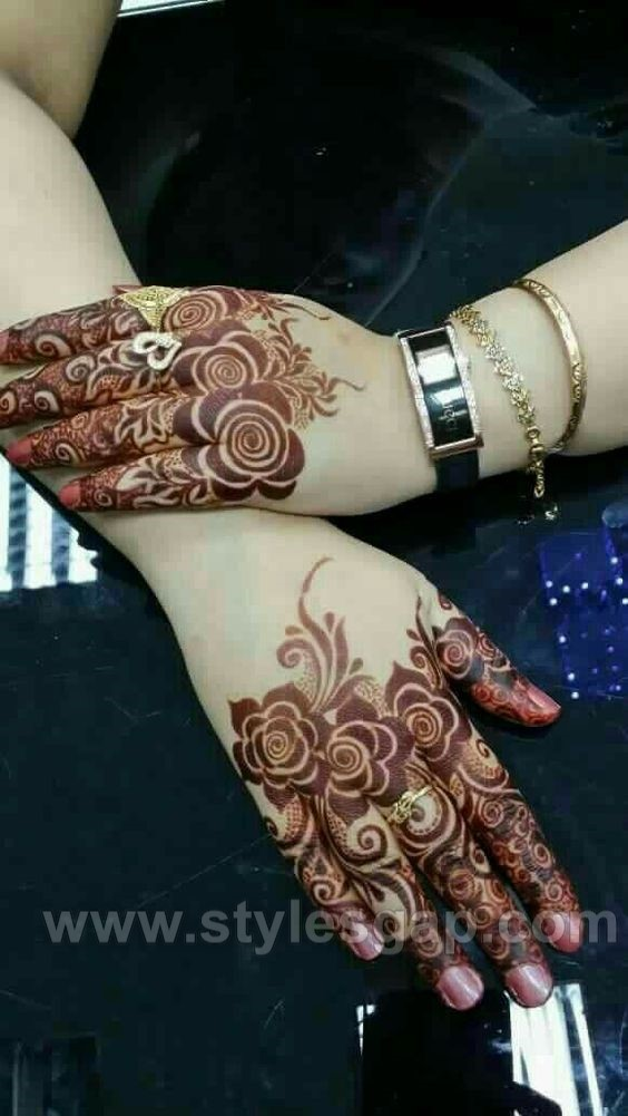 Simple Pakistani Girl Wallpaper Beautiful Easy Finger Mehndi Designs 2018 2019 Styles