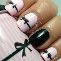 Bow Nail Art Designs 2017 with Tutorials - Remarkable Bow ...