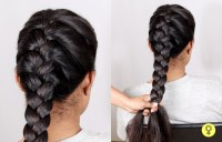 French Braid Tutorial Step by Step - How to Tie a French Knot?
