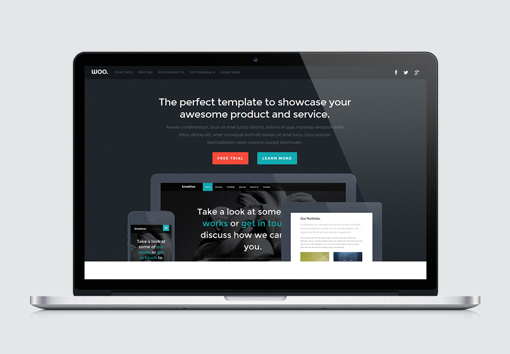 Responsive Web Design Builder