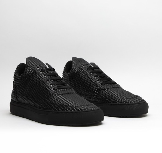 "Low Top ""Pyramid Black"" von Filling Pieces"