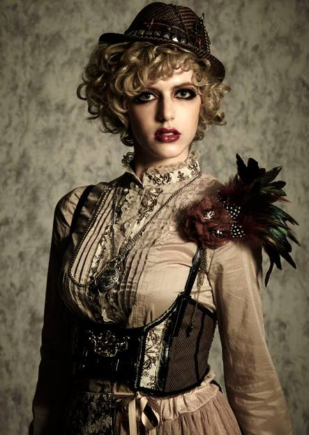 Gothic Girl Wallpaper Fantasy Steampunk Fashion The Power Of Steam In Victorian Era