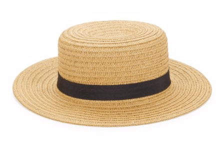 woven boater hat lord and taylor boat hat