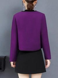 Long Sleeve Work Shawl Collar Coat - StyleWe.com
