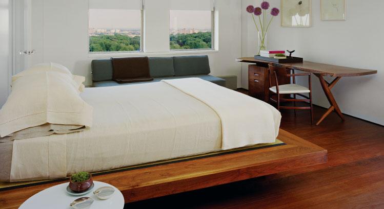 Einrichten mit Holz Nakashima Woodworker - schlafzimmer einrichten holz